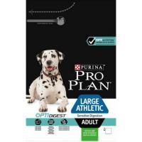 Сухой корм для собак Про План (ProPlan). Для взрослых собак крупных пород атлетического телосложения ягненок/рис 18 кг