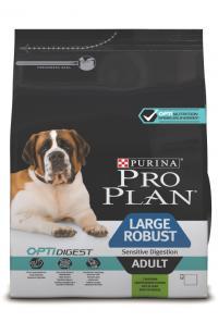 Сухой корм для собак Про План (ProPlan). Для взрослых собак крупных пород мощного телосложения ягненок/рис 18 кг