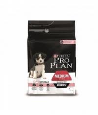 Сухой корм для собак Про План (ProPlan). Для щенков средних пород лосось/рис чувствительная кожа 18 кг