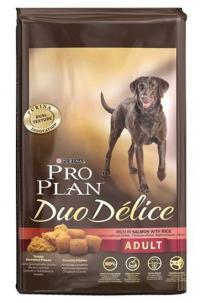 Сухой корм для собак Про План (ProPlan). PRO PLAN DUO DELICE для взрослых собак лосось/рис 10 кг