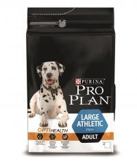 Сухой корм для собак Про План (ProPlan). Для взрослых собак крупных пород атлетического телосложения курица/рис 18 кг